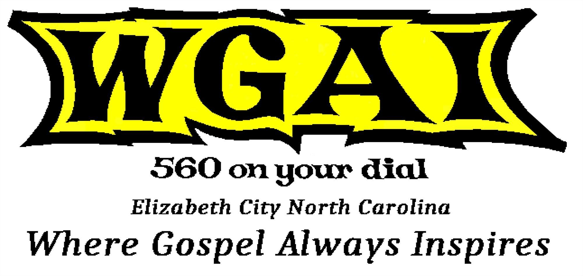 WGAI-AM 560 Elizabeth City, NC, Where Gospel Always Inspires